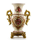 Chinese antique porcelain vase — Stock Photo