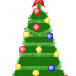 Stock Photo: Christmas tree...