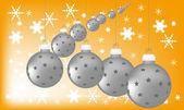 Kerstballen.. — Stockfoto