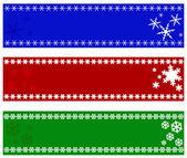 Weihnachten Banner — Stockfoto