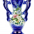 Stock Photo: Vase.Isolated.