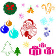Royalty-Free Stock Photo: Christmas icons