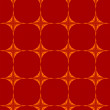 Stock Photo: Red Seamless wallpaper pattern.