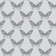 Stock Photo: Seamless textur,butterflies