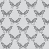 Seamless textur,butterflies — Stock Photo