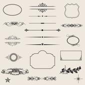 Calligraphic design elements — Stock Photo