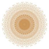 Decorative gold frame — Foto Stock