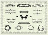 Set of design elements — Stock Photo