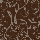 Elegant stylish abstract floral wallpaper. — Stock Photo