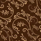 Wallpaper with floral ornament.. — Stock Photo