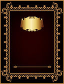 Invitation vintage card. artistic background. — Stock Photo
