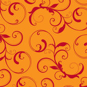 Vector. Beautiful background with flower drawing!! — Stock Photo