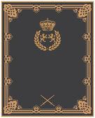 Invitation vintage card. artistic background! — Foto de Stock