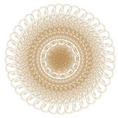 Decorative gold patterns on white!!! — Stock Photo