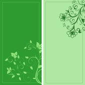 Template design for invitation with damask ornaments — Stock Photo