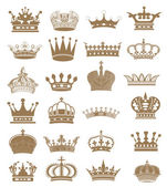 Crown kollektion! — Stockfoto