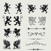 Fronteiras e elementos de design — Foto Stock