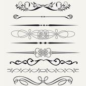 Fronteras y elementos de diseño. — Foto de Stock