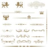Calligraphic design elements. — Stock Photo