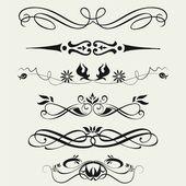 Hranice a prvky pro design.. — Stock fotografie