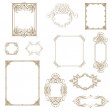 Set of decorative frame. Vector illustration!! — Stock Photo #25094439