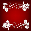 Floral greeting card ,abstract, background — 图库照片