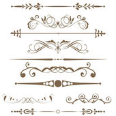 边框和设计元素... — 图库照片