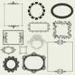 Set of decorative frame.. — Stock Photo #25997597