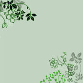 Floral greeting card ,abstract, background.. — Stock Photo