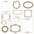 Set of decorative frame. — Stock Photo #26455647
