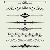 Grenzen und elemente für design — Stockfoto