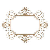 Elegant frame banner. — Stock Photo