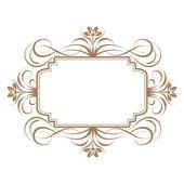 Elegant frame banner. — Stock Photo