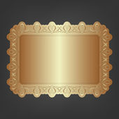 Decorative Vintage Ornate Banner. — Stock Photo