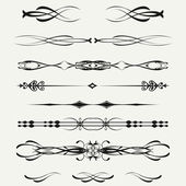 Borders and elements for design. Vector.. — Stock Photo