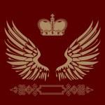 Vintage emblem!! — Stock Photo