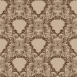 Damask seamless pattern for design. Vector Illustration — Stock Photo