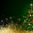 Christmas Background. Abstract Vector Illustration. Eps10. — Stock Photo #34166999