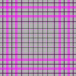 Seamless pink-gray-white cross gentle pattern (vector EPS 10) — Stock Photo
