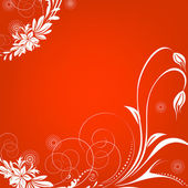 鲜花贺卡,抽象的背景 — 图库照片