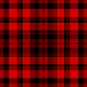 Tartan traditional checkered british fabric seamless pattern — Stock Vector