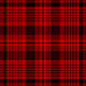 Checkered british fabric pattern — Stock Vector