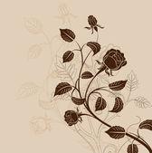 Modelo de plano de fundo floral — Vetorial Stock