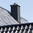 Close up chimney on the roof. — Stock Photo #48762229