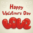 Happy Valentine — Vector de stock #18552391