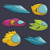Spacecraft — Stock Vector
