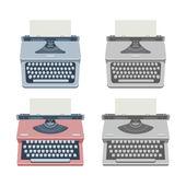 Typewriter — Stockvektor