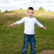 Little boy playing at the park — Stock Photo #13948240
