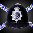 Police Helmet — Stock Photo