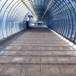 Stock Photo: Footpath and tunnel made of glass